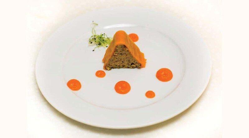 Budincă de morcovi cu carne de vită